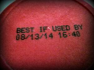 If the date on your condiments doesn't match the calendar date, toss it!