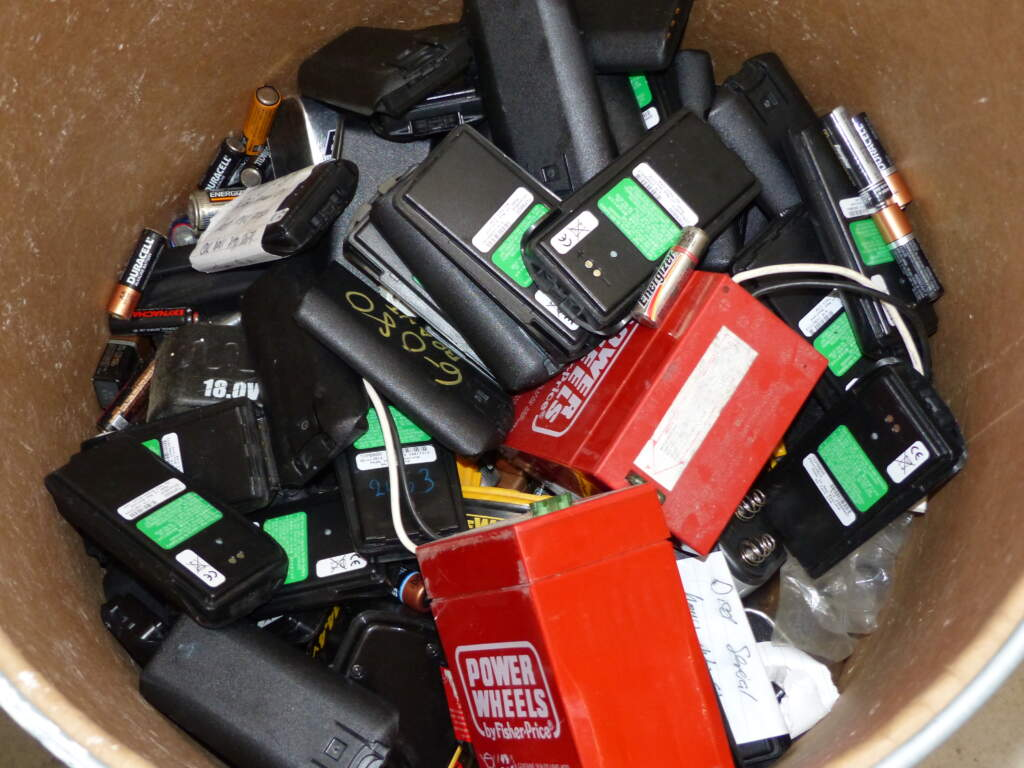 Load of Rubbish Recycles Cell Phone Batteries