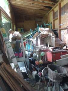 Shed full of junk